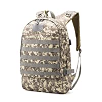 Leoie Unisex Camouflage Chicken Dinner Backpack Fashion Double Shoulder Bags for Students