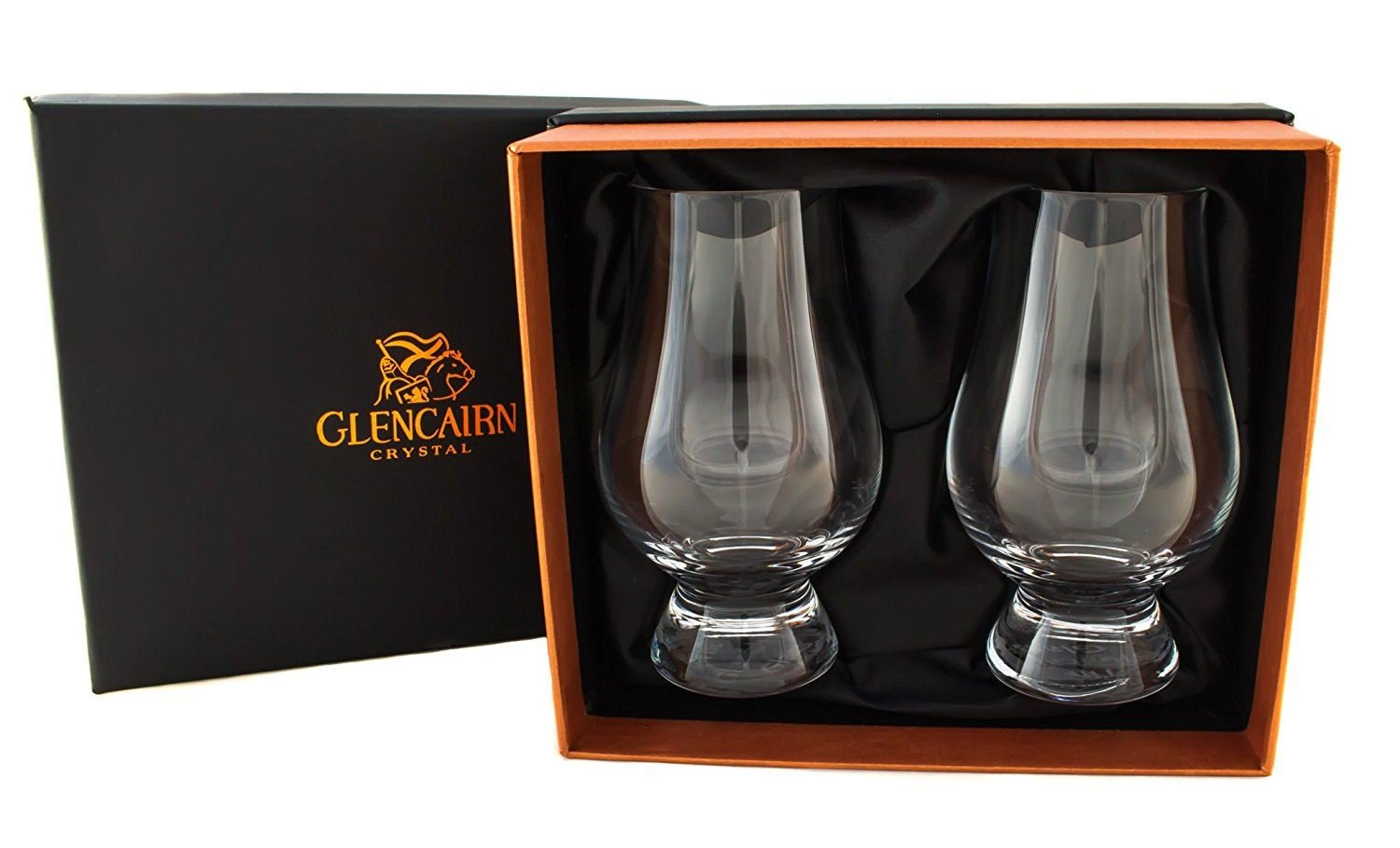 Glencairn Crystal Official Whisky Glasses in Presentation Box | Set of 2