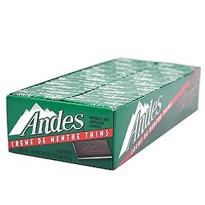 Andes Creme De Menthe Thin Mints, 120-Count Thins