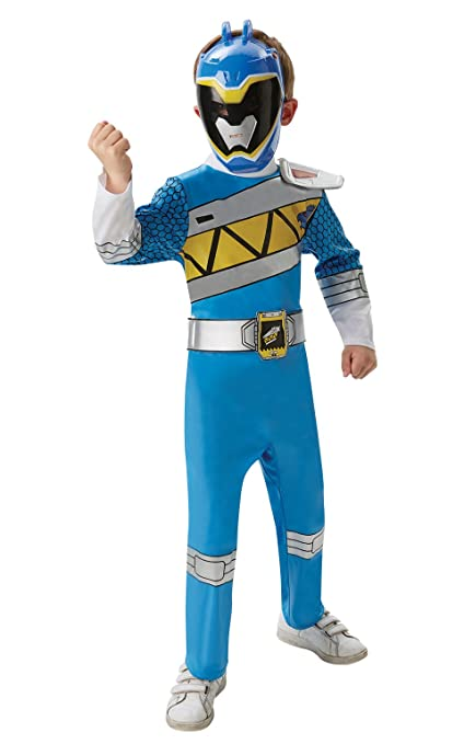 Childrens Dino Charge Blue Ranger Costume Small