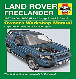 landrover freelander locking roof bars only fits cars with roof rh amazon co uk Land Rover Repair Manual Chilton Land Rover Repair Manual Chilton