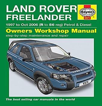 Manual de propietarios para Land Rover Freelander (97 – octubre 06 ...