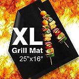 xl bbq grill mat - Delamu BBQ Grill Mat, XL Grill Mats Non Stick, 25