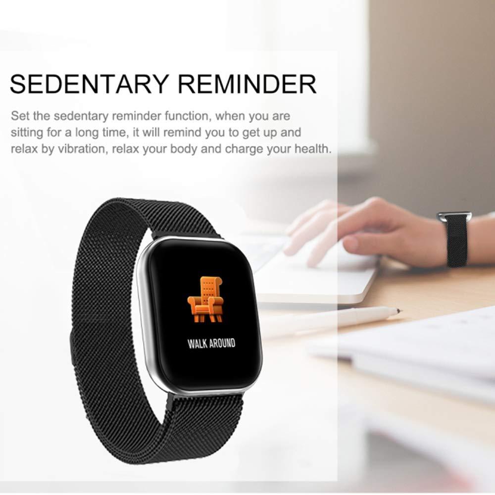 Smartwatch con Pulsómetros Actividad, Letopro Fitness Tracker IP68 Impermeable Monitor de Actividad,Apoyo presión sanguínea de sueño Podómetros ...
