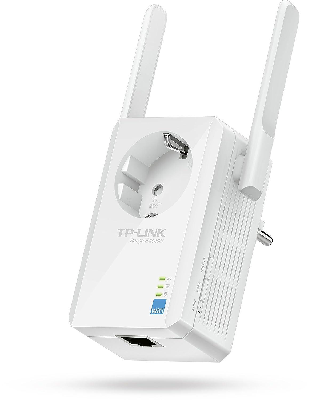 TP LINK TL WARE Extensor de red WiFi N antenas externas enchufe