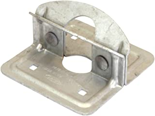 "product image for PlayStar Commercial Grade Dock Foot Plate for Use with 1 5/8"" or 1 7/8"" Dock Pipe"