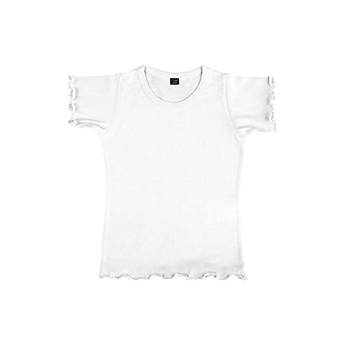 Nakedshirt - Camiseta de manga corta de algodón orgánico modelo Mouse para niñas: Amazon.es: Ropa y accesorios
