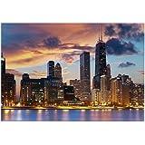 "CafePress - Chicago - Rectangle Magnet, 2""x3"" Refrigerator Magnet"