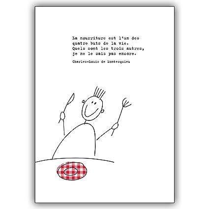 Tarjetas De Felicitación Con Cantidad Descuento Francés De