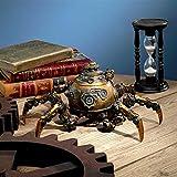 Design Toscano Octopod Mechanical Steampunk Sculpture, Gold