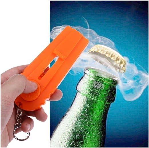Cap Launcher Key Ring Flying Cap Zappa Bottle Beer Opener Kitchen Tool Gadgets