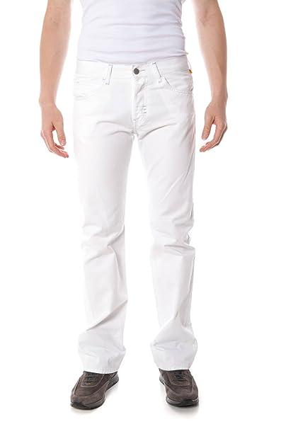 MeltinPot Morgan 2319 Denim Jeans Hombre Blanco BI00 33 ...
