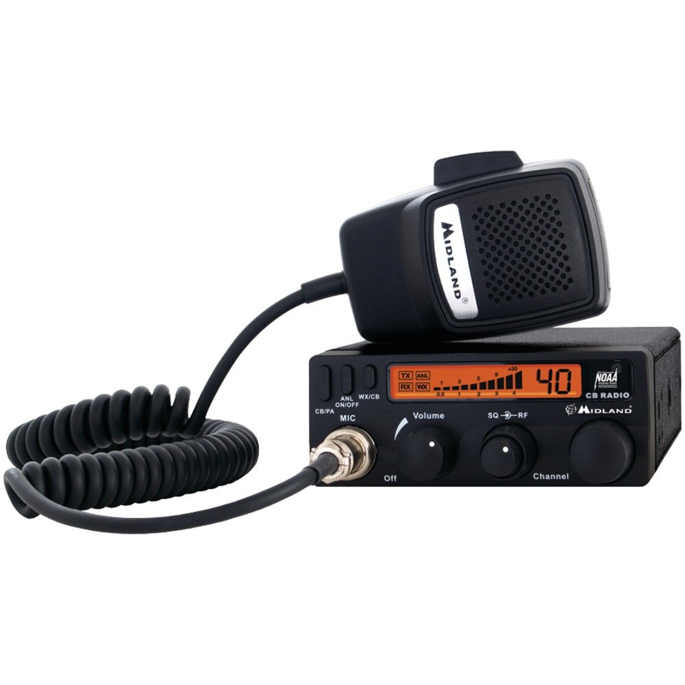MIDLAND 1001LWX Full-Featured CB Radio with Weather Scan Technology Computers, Electronics, Office Supplies, Computing by MIDLAND