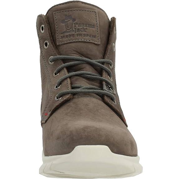 f216d0df PANAMA JACK - Cerrado Hombre, Color Gris, Talla 41 UE: Amazon.es: Zapatos y  complementos