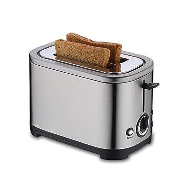 Amazon.com: Tostadora con 2 ranuras de pan, tostadora de ...