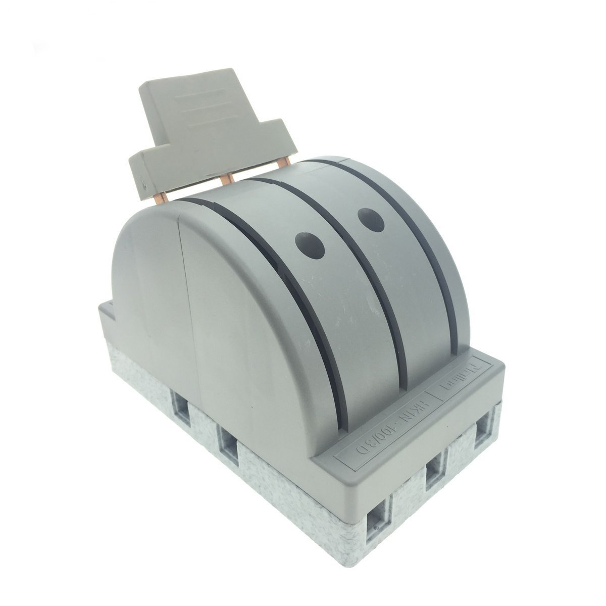 YXQ 380V 100A 3 Pole Double Throw Power Supply Safety Control Knife Switch Gray by YXQ (Image #1)