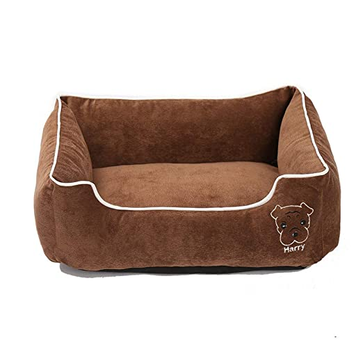 KUIAHIO Mascota Cama para Perros Estera Removabl Puppy Bench ...