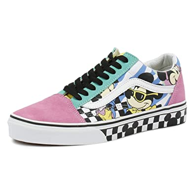 bc943973004 Image Unavailable. Image not available for. Color  Vans Old Skool Disney  80 s Mickey True ...