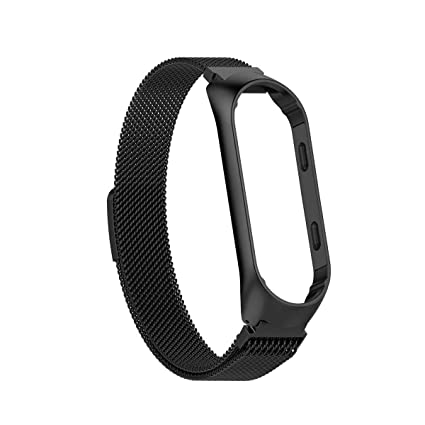 Image result for mi fit 3 metal black band