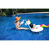 Baby Unicorn Inflatable Swimming Ring for Kids Enjoy Playing on Water