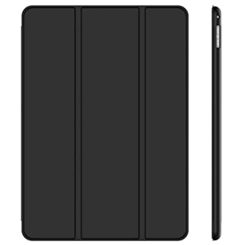 JETech 3150 - Funda para iPad Pro 12,9 (Modelo 2015 y 2017), Carcasa con Auto-Sueño / Estela, Negro