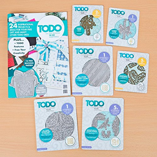 TODO Candy Cane + Snowflake and Foliage Accessories with Magazine Issue 2 by Todo