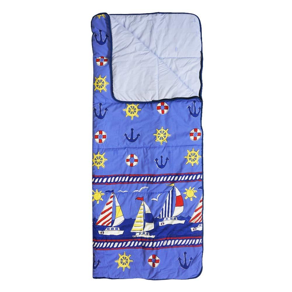 Hosa - Saco de Dormir Infantil Barcos Azul - Saco Rectangular de ...