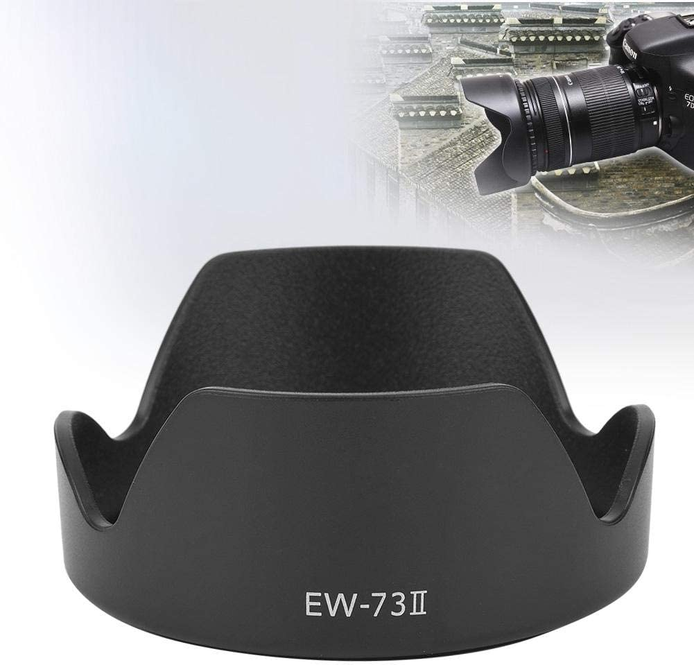 Mugast Portable EW-73Ⅱ Lens Hood,Professional Replacement Lens Hood for Canon 24-85mm f3.5-4.5 USM Lens