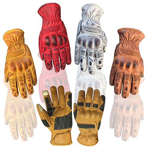 Prime Top Quality Summer/Winter Motorbike Sports Racing Kevlar Gloves Dirty Look with I touch 9008 (Yellow, XL)