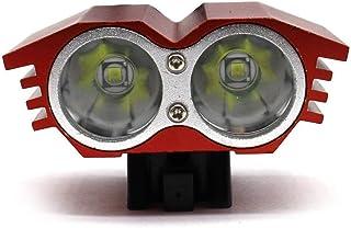 Tellaboull for MTB Faro Posteriore Fanale Posteriore Anteriore per Bicicletta Luci Posteriori a LED Set luci Lampada