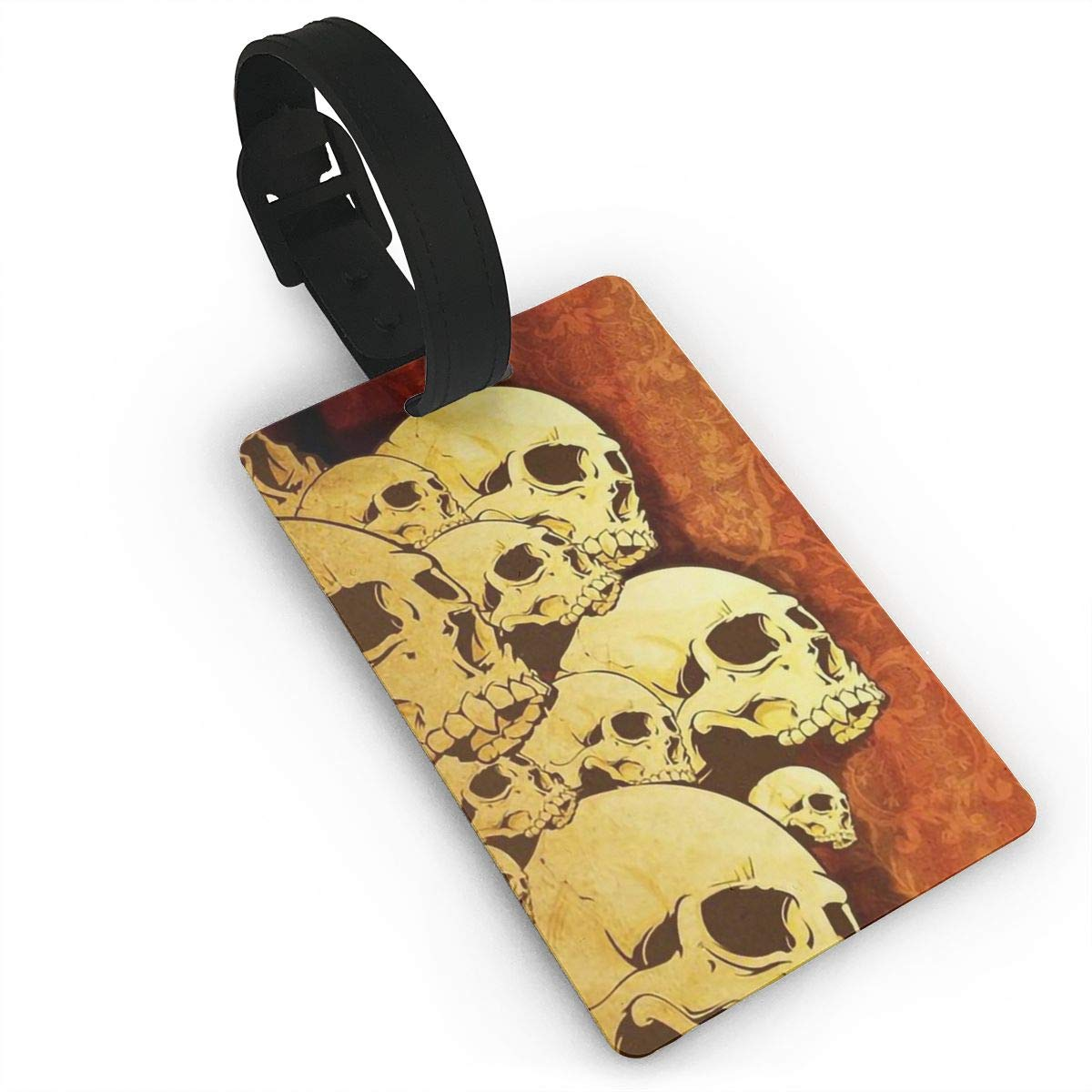 2 Pack Luggage Tags Skull Cruise Luggage Tag For Travel Tags Accessories