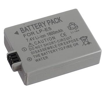 Cargador Micro USB para cámara réflex Digital Canon LP-E5 y Canon ...