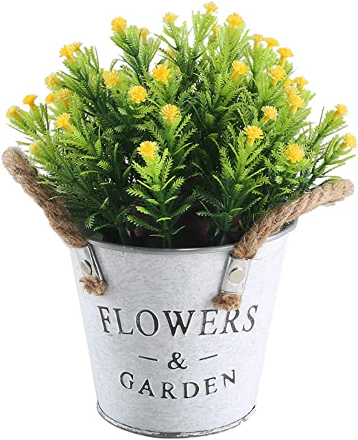 Amazon Com Huaesin Artificial Potted Plant Artificial Topiary