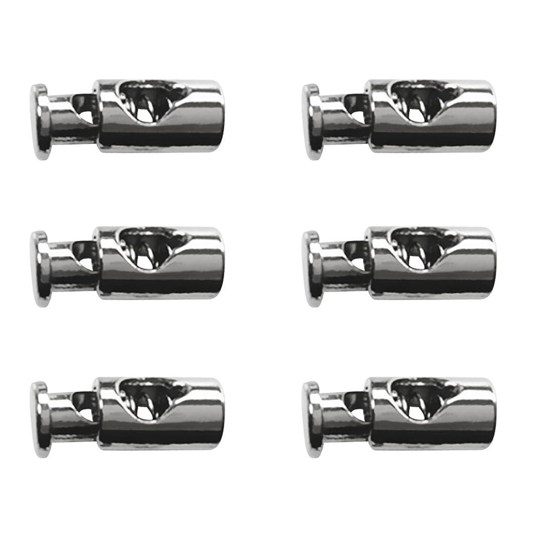 実際ヘッジ小人CCINEE コードストッパー コード ロック スポーツウェア用 黒色 50個入り (丸型)