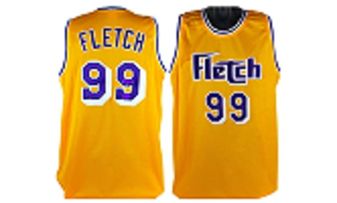 38bee0e5aa3 Image Unavailable. Image not available for. Color  Chevy Chase Irwin  Fletch   Fletcher 99 Basketball Jersey