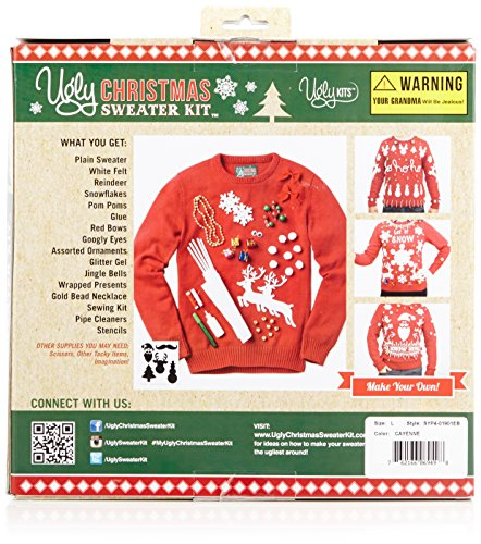 Ugly Christmas Sweater Men's Make Your Own Ugly Christmas Sweater ...