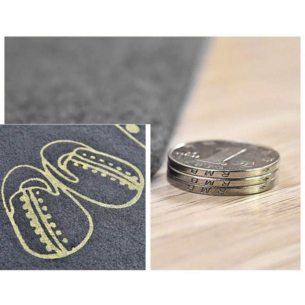 Zuionk rutschfeste, saugfähige Fußmatte für die Küche im Wohnzimmer im Badezimmer Teppiche