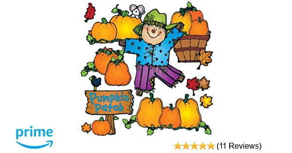 1c5079ef265 Amazon.com   Carson Dellosa D.J. Inkers Pumpkin Patch Bulletin Board Set  (610048)   Themed Classroom Displays And Decoration   Office Products