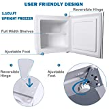 Northair Upright Freezer with 1.1 Cubic Feet