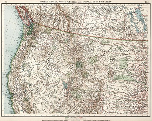 historic maps of canada - 3