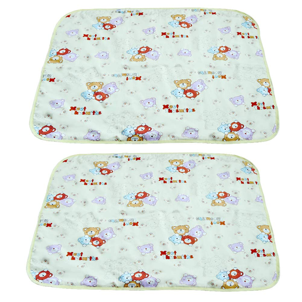 Zyan Baby Kid Mattress Waterproof Changing Pad Diapering Sheet Protector Menstrual Pads Pack of 2 YXYL