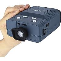 BOBLOV NV100 Jumelles Bleu Monoculaire Numérique Digital 2X Vision Nocturne Infrarouge Portable Caméra et Vidéo 1X, 1.3X, 1.6X, 2X Vue jusqu'à 100 m