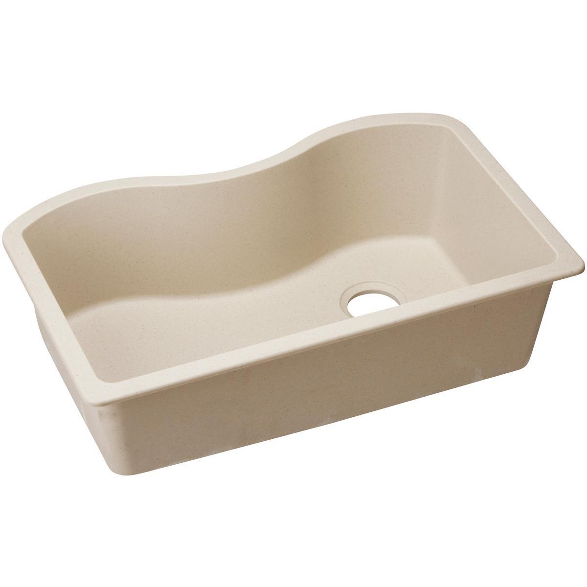 Mocha Elkay ELGUS3322RMC0 Harmony Quartz Classic Undermount Sink