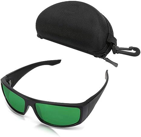 IR LED Gafas de Seguridad In Grow Room /& Greenhouse Tokenhigh Gafas Protectoras de Crecer Luces Indoor Grow Glass Glasses contra Rayos Rojo,UV