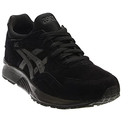 ac4ec6c6 Asics Gel-Lyte V Shadow Pack Mens Black Leather Lace Up Trainers ...