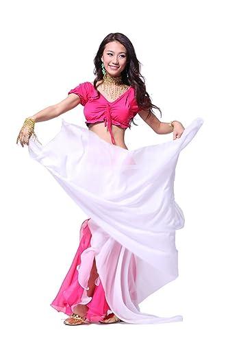 240cmx 120cm gasa lndian disfraz de danza del vientre gasa big velo