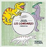 Les Dinosaures: Mon cahier de coloriages: 40 Motifs à colorier - à partir de 5 ans