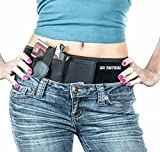 Ultra Belly Band Holster - IWB Concealed Carry | Women & Men | Conceal Carry Appendix, Shoulder, On Hip & More | Smith & Wesson M&P Shield 9mm XDS, 1911, Sig Sauer P238, P938 Ruger LCP, Glock 26, More
