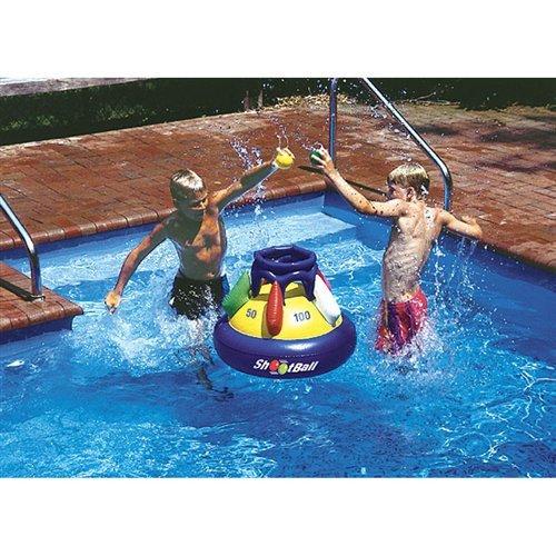 Shootball Floating Pool Basketball Float