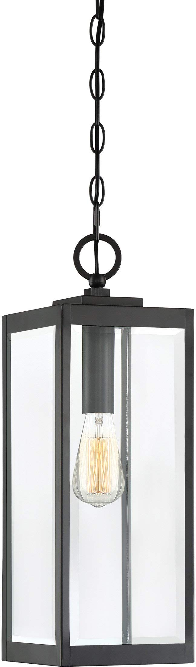Quoizel WVR1907EK Westover Lantern Outdoor Earth Black